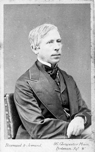 Heinrich Debus (chemist) - Debus in 1872