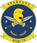 Helicopter Maritime Strike Squadron 70 (US Navy) insignia 2016.png