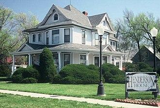Stafford, Kansas - Image: Henderson House, Stafford, Kansas
