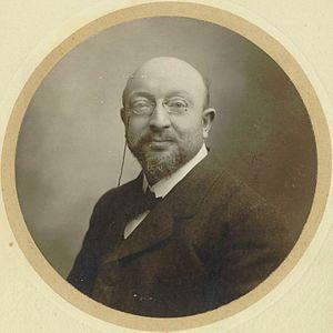 Adolphe Hennebains - Adolphe Hennebains in 1907.