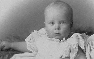 Henry Allingham - Allingham as an infant in the 1890s