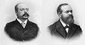 Paul Henry and Prosper Henry - Paul Henry (left) and Prosper Henry (right)