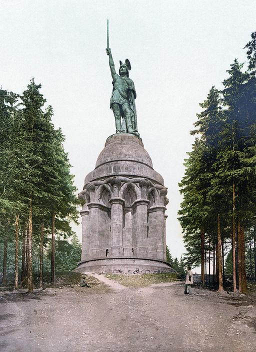 Hermannsdenkmal 1900