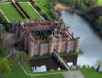 Herstmonceux - Herstmonceux Castle