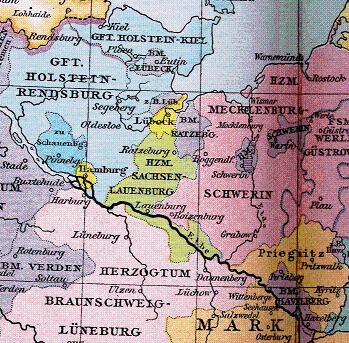 Herzogtum Sachsen Lauenburg 1400