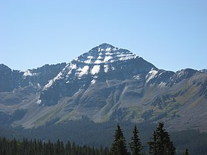 Hesperus Mountain (Colorado) - Hesperus Mountain