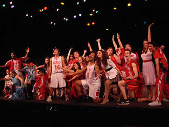 High School Musical - Pacific Repertory Theatre's School of Dramatic Arts production of Disney's High School Musical.