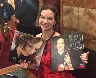 Hilary Hahn American violinist