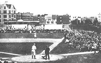 New York Yankees - Hilltop Park, home of the Highlanders