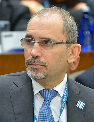 Ayman Safadi - Image: His Excellency Safadi at the Meeting of Ministers of the Global Coalition in Washington (cropped)