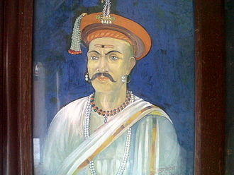 Balaji Vishwanath - A painting of  Balaji Vishwanath Peshwa in the Peshwa Memorial at the  Parvati Hill temple complex, Pune