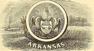 Seal of Arkansas - Seal in 1853