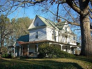 Waleska, Georgia - Historic home, Waleska, Ga.