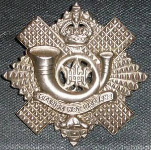 Highland Light Infantry of Canada - Hli badge1