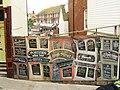 Hoarding on High Street, Hastings - geograph.org.uk - 1286095.jpg
