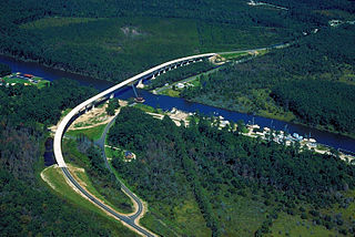 Intracoastal Waterway inland waterway along the Atlantic and Gulf of Mexico coasts of the United States