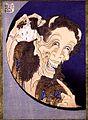 Hokusei, Horned Figure with Child's Head.jpg