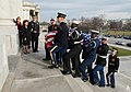 Honor Guard carries Senator Inouye into the U.S. Capitol for Lying in State (8291754910).jpg