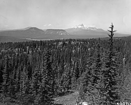 Hoodoo Butte, Hayrick Butte, Three Fingered Jack and Big Lake from the Pacific Crest National Scenic Trail.jpg