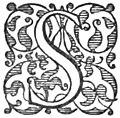 Horace Satires etc tr Conington (1874) - Capital S type 1.jpg