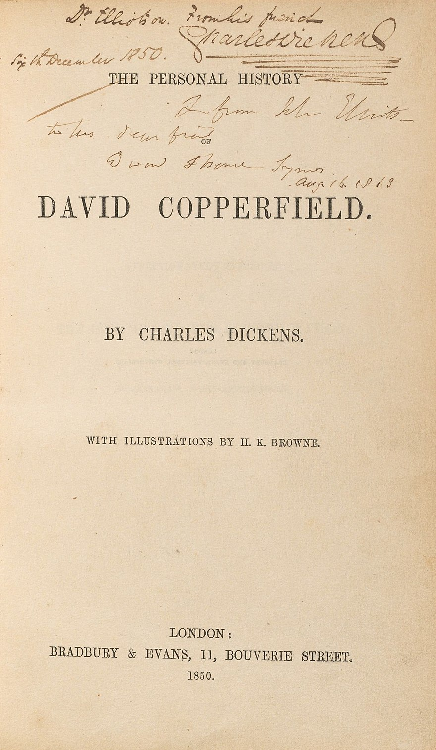 David Copperfield - The Reader Wiki, Reader View of Wikipedia