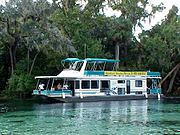 Houseboat in FloridaSprings