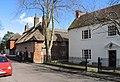 Houses opposite St Michael's Church, Hartlip, Kent - geograph.org.uk - 375151.jpg
