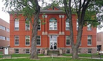 Hubbard County, Minnesota - Image: Hubbard County Courthouse E