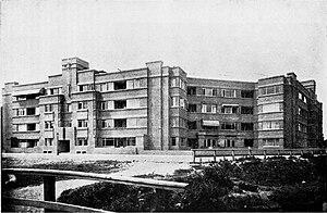 New Hague School (architecture) - W. Verschoor. Huize Boszicht, Benoordenhoutseweg, The Hague. 1918-1920 (construction).