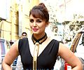 Huma Qureshi launches Oriflame's The One cosmetics range.jpg