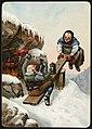 Humoristisk julemotiv tegnet av Wilhelm Larsen (24207672878).jpg