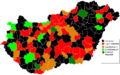 Hungarian Wikipedians Subregions 2010 February.PNG