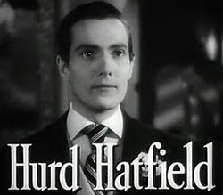 Hurd Hatfield in The Picture of Dorian Gray trailer