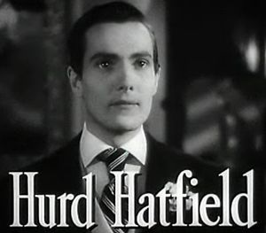 The Picture of Dorian Gray (1945 film) - Image: Hurd Hatfield in The Picture of Dorian Gray trailer