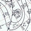 Hurricane Ilsa surface analysis September 29 1958.jpg