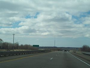 Interstate 196 - Image: I 196 near Hudsonville,MI