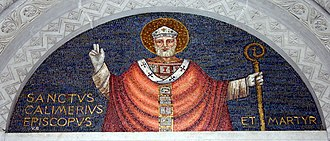 Calimerius - Image: IMG 5585 Milano San Calimero Mosaico Foto Giovanni Dall'Orto 21 febr. 2007