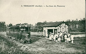 INCONNU 6 - THELIGNY - La Gare du Tramway.JPG