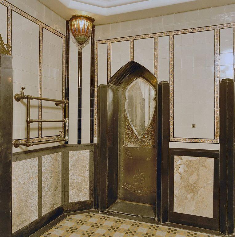 File interieur badkamer art deco overzicht den dolder 20280115 wikimedia commons - Image deco badkamer ...