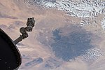 ISS-58 Libya, Sahara with the Haruj volcanic field.jpg