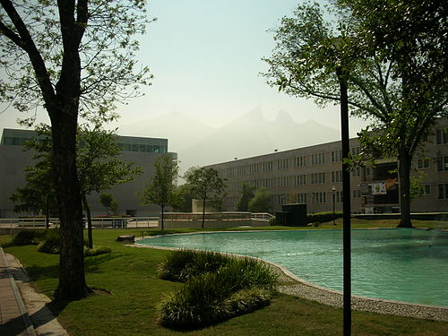 Its Femsa Biotechnology Center (left) is the leading source of patent applications among its research centers In 2008 the Tech was the leading patent applicant among Mexican universities and generated three times as many international patents as its closest competitors. ITESM Femsa Biotechnology Center Aulas I.jpg
