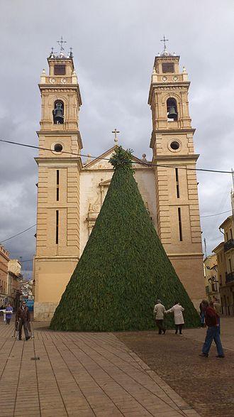 Canals, Valencia - Image: Iglesia parroquial de Sant Antoni Abat (Canals) 2012 09 24 22 47 33