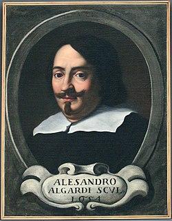 Ignoto, ritratto di alessandro algardi, 1654, 01.JPG