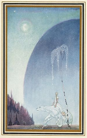 East of the Sun and West of the Moon - Image: Illustration by Kay Nielsen 3