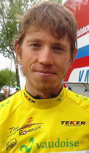 Ilnur Zakarin - Zakarin at the 2015 Tour de Romandie