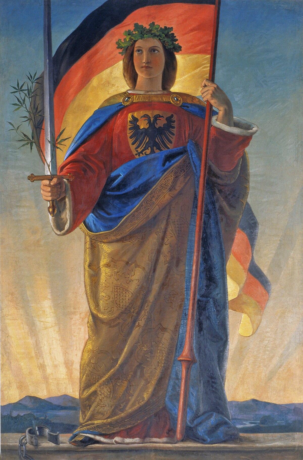 Germania (personification) - Wikipedia