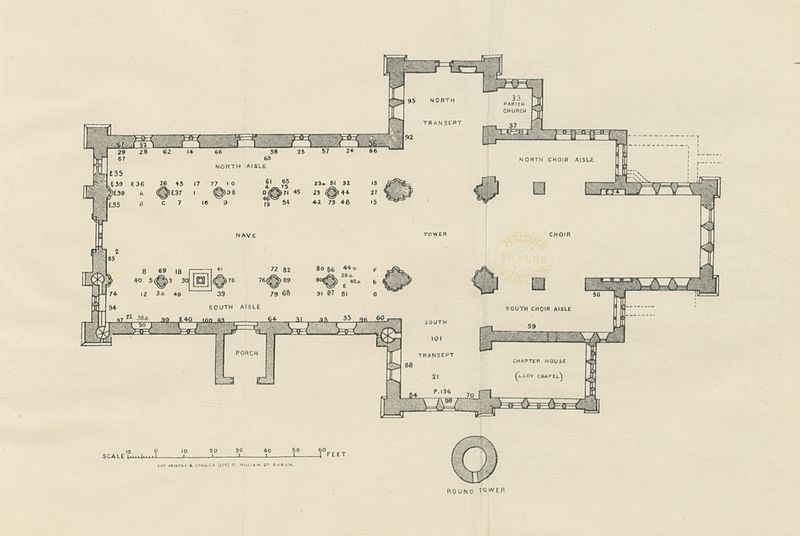 Image taken from page 47 of 'Handbook to the Cathedral Church of St. Canice, Kilkenny. Edited by R. L'