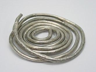 Indium - Ductile indium wire