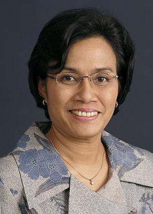 Sri Mulyani Indrawati - Sri Mulyani being Managing Director of the World Bank Group (2010)