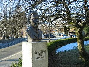 Ingebrigt Vik - Bust of Ingebrigt Vik  at Ingebrigt Vik Museum